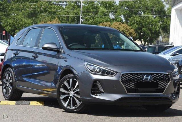 New Hyundai i30 PD2 MY20 Premium, 2019 Hyundai i30 PD2 MY20 Premium Iron Gray 6 Speed Sports Automatic Hatchback