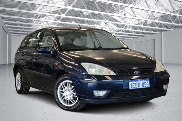 Used Ford Focus LR LX, 2003 Ford Focus LR LX Slate Blue 4 Speed Automatic Hatchback