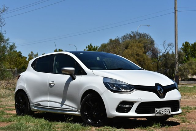 Used Renault Clio IV B98 Expression EDC, 2015 Renault Clio IV B98 Expression EDC White 6 Speed Sports Automatic Dual Clutch Hatchback