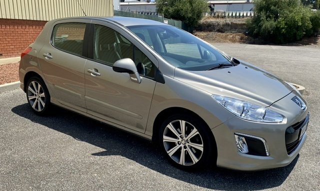 Used Peugeot 308 T7 MY12 Active, 2011 Peugeot 308 T7 MY12 Active Gold 6 Speed Sports Automatic Hatchback