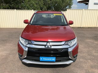 2017 Mitsubishi Outlander ZK MY17 LS 2WD Maroon 6 Speed Constant Variable Wagon.