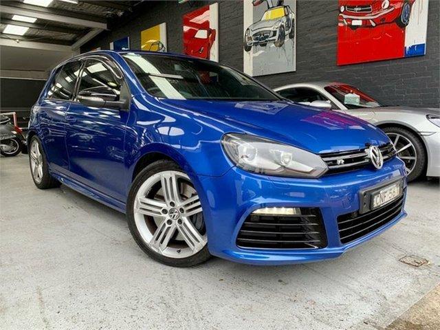Used Volkswagen Golf VI R, 2012 Volkswagen Golf VI R Blue Sports Automatic Dual Clutch Hatchback