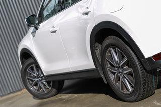 2019 Mazda CX-5 KF4WLA GT SKYACTIV-Drive i-ACTIV AWD Snowflake White Pearl 6 Speed Sports Automatic