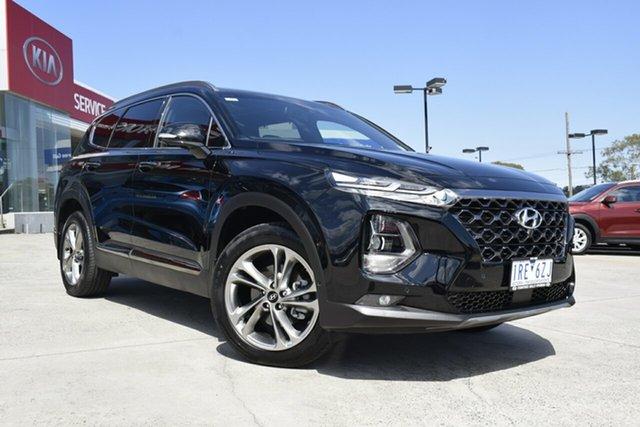Used Hyundai Santa Fe TM MY19 Highlander, 2019 Hyundai Santa Fe TM MY19 Highlander Black 8 Speed Sports Automatic Wagon