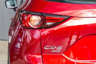 2019 Mazda CX-5 KF4WLA Akera SKYACTIV-Drive i-ACTIV AWD Soul Red Crystal 6 Speed Sports Automatic