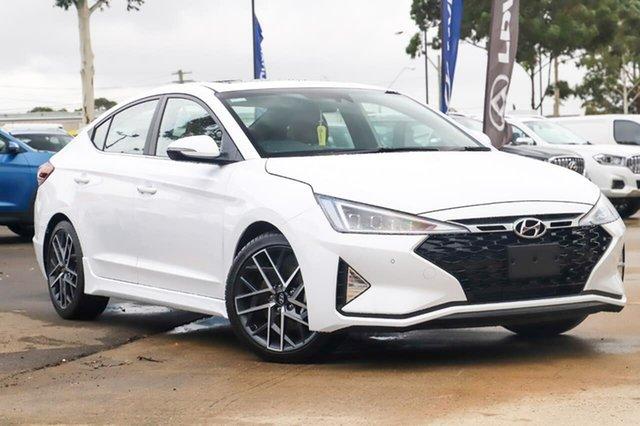 New Hyundai Elantra AD.2 MY20 Sport DCT Premium, 2020 Hyundai Elantra AD.2 MY20 Sport DCT Premium Polar White 7 Speed Sports Automatic Dual Clutch