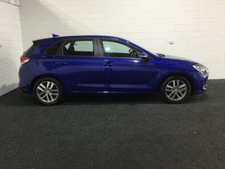 2018 Hyundai i30 PD2 MY19 Active Intense Blue 6 Speed Sports Automatic Hatchback.