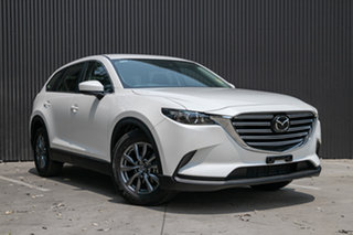 2019 Mazda CX-9 TC Sport SKYACTIV-Drive Snowflake White Pearl 6 Speed Sports Automatic Wagon.