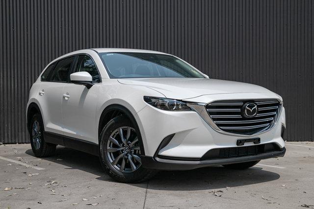 Demo Mazda CX-9 TC Sport SKYACTIV-Drive, 2019 Mazda CX-9 TC Sport SKYACTIV-Drive Snowflake White Pearl 6 Speed Sports Automatic Wagon
