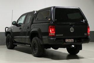 2013 Volkswagen Amarok 2H MY13 TDI400 Highline (4x4) Black 6 Speed Manual Dual Cab Utility