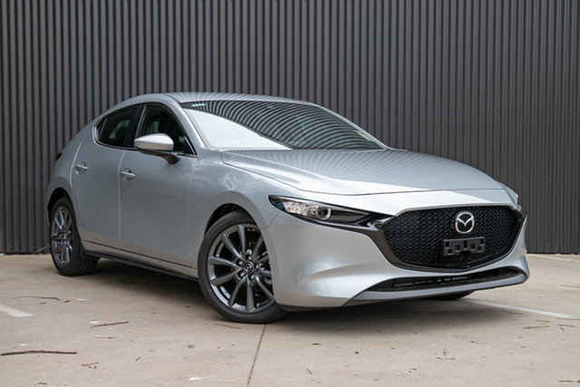 New Mazda 3 BP2H7A G20 SKYACTIV-Drive Evolve, 2019 Mazda 3 BP2H7A G20 SKYACTIV-Drive Evolve Sonic Silver 6 Speed Sports Automatic Hatchback