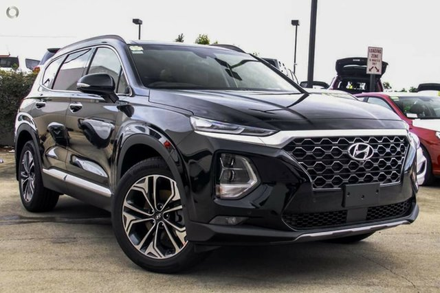 New Hyundai Santa Fe TM.2 MY20 Highlander, 2019 Hyundai Santa Fe TM.2 MY20 Highlander Phantom Black 8 Speed Sports Automatic Wagon
