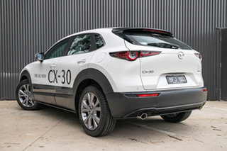 2019 Mazda CX-30 DM2W7A G20 SKYACTIV-Drive Evolve Snowflake White Pearl 6 Speed Sports Automatic