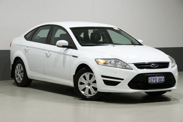 Used Ford Mondeo MC LX TDCi, 2014 Ford Mondeo MC LX TDCi White 6 Speed Direct Shift Hatchback