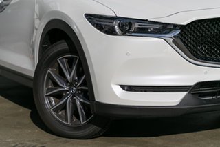 2019 Mazda CX-5 KF4WLA GT SKYACTIV-Drive i-ACTIV AWD Snowflake White Pearl 6 Speed Sports Automatic.