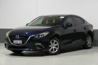 2014 Mazda 3 BM Neo Blue 6 Speed Automatic Sedan.