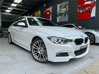 2013 BMW 3 Series F30 328i M Sport White Sports Automatic Sedan.