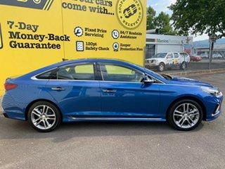2018 Hyundai Sonata LF4 MY18 Premium Blue 8 Speed Sports Automatic Sedan