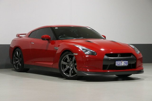 Used Nissan GT-R R35 Premium, 2009 Nissan GT-R R35 Premium Red 6 Speed Auto Dual Clutch Coupe
