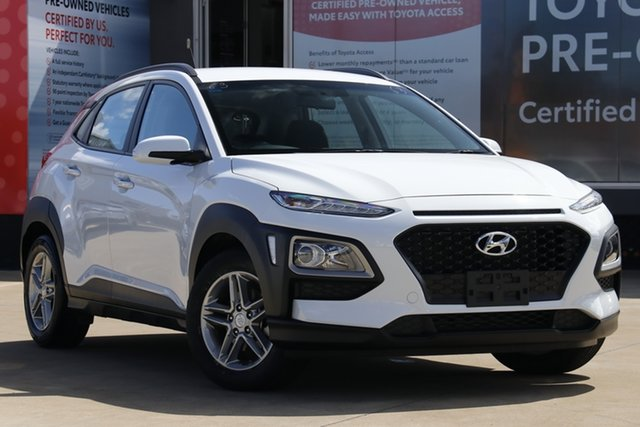 Used Hyundai Kona OS Active (FWD), 2018 Hyundai Kona OS Active (FWD) White 6 Speed Automatic Wagon