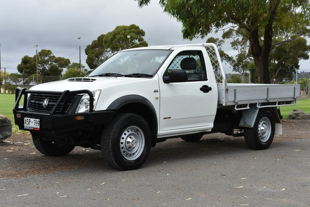 Used Holden Rodeo RA MY08 DX, 2008 Holden Rodeo RA MY08 DX White 5 Speed Manual Cab Chassis