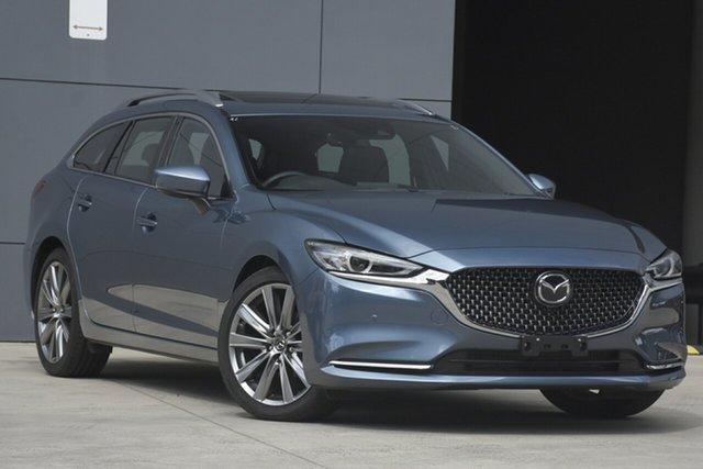 Used Mazda 6 GL1033 Atenza SKYACTIV-Drive, 2019 Mazda 6 GL1033 Atenza SKYACTIV-Drive Blue Reflex 6 Speed Sports Automatic Wagon