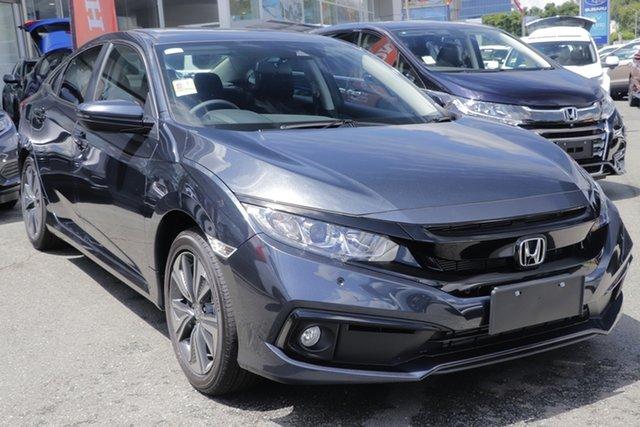 Demo Honda Civic 10th Gen MY19 VTi-L, 2019 Honda Civic 10th Gen MY19 VTi-L Cosmic Blue 1 Speed Constant Variable Sedan