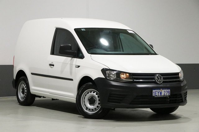 Used Volkswagen Caddy 2K MY16 TSI160 Runner, 2016 Volkswagen Caddy 2K MY16 TSI160 Runner White 5 Speed Manual Van