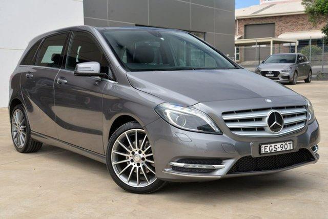 Used Mercedes-Benz B-Class W246 B200 DCT, 2013 Mercedes-Benz B-Class W246 B200 DCT Grey 7 Speed Sports Automatic Dual Clutch Hatchback