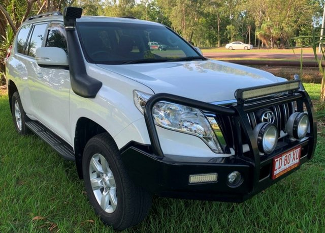 Used Toyota Landcruiser Prado KDJ150R MY14 GXL, 2015 Toyota Landcruiser Prado KDJ150R MY14 GXL White 5 Speed Sports Automatic Wagon
