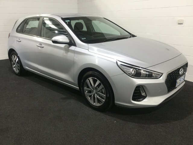 Used Hyundai i30 PD2 MY19 Active, 2018 Hyundai i30 PD2 MY19 Active Platinum Silver 6 Speed Sports Automatic Hatchback