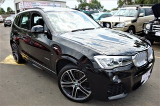 2015 BMW X3 F25 LCI xDrive30d Steptronic Grey 8 Speed Sports Automatic Wagon.