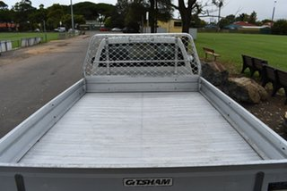 2008 Holden Rodeo RA MY08 DX White 5 Speed Manual Cab Chassis