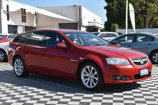 2012 Holden Commodore VE II MY12 Equipe Sportwagon Red/Black 6 Speed Sports Automatic Wagon.