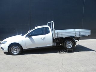 2012 Ford Falcon FG MK2 (ECOLPi) 3 Seater White 6 Speed Automatic Cab Chassis