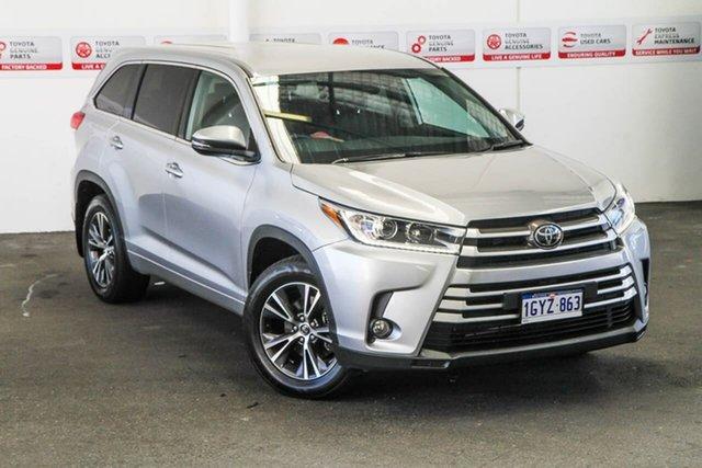 Used Toyota Kluger GSU55R MY18 GX (4x4), 2018 Toyota Kluger GSU55R MY18 GX (4x4) Silver 8 Speed Automatic Wagon