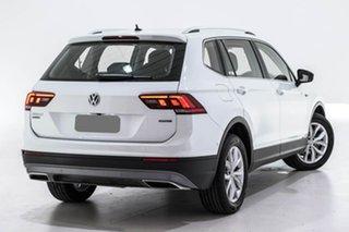 2018 Volkswagen Tiguan 5N MY18 110TDI Comfortline DSG 4MOTION Allspace White 7 Speed.