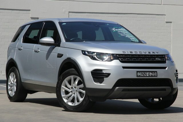 Used Land Rover Discovery Sport L550 17MY TD4 150 SE, 2017 Land Rover Discovery Sport L550 17MY TD4 150 SE Silver 9 Speed Sports Automatic Wagon
