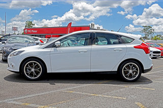 2012 Ford Focus LW MkII Sport PwrShift White 6 Speed Sports Automatic Dual Clutch Hatchback