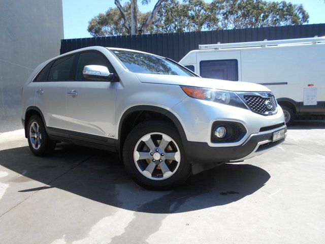 Used Kia Sorento XM MY12 SI (4x4), 2012 Kia Sorento XM MY12 SI (4x4) Silver 6 Speed Manual Wagon