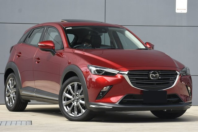 Used Mazda CX-3 DK2W7A Akari SKYACTIV-Drive FWD LE, 2019 Mazda CX-3 DK2W7A Akari SKYACTIV-Drive FWD LE Soul Red 6 Speed Sports Automatic Wagon