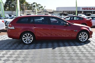 2012 Holden Commodore VE II MY12 Equipe Sportwagon Red/Black 6 Speed Sports Automatic Wagon