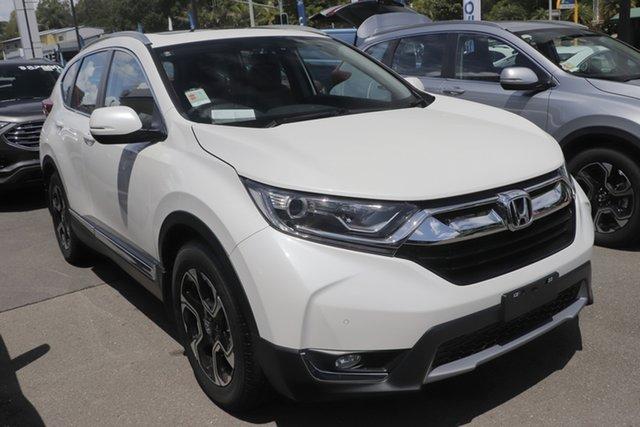 Demo Honda CR-V RW MY20 VTi-L FWD, 2019 Honda CR-V RW MY20 VTi-L FWD Platinum White 1 Speed Constant Variable Wagon