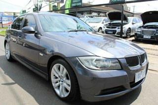 2006 BMW 3 Series E90 323i Steptronic Grey 6 Speed Sports Automatic Sedan.