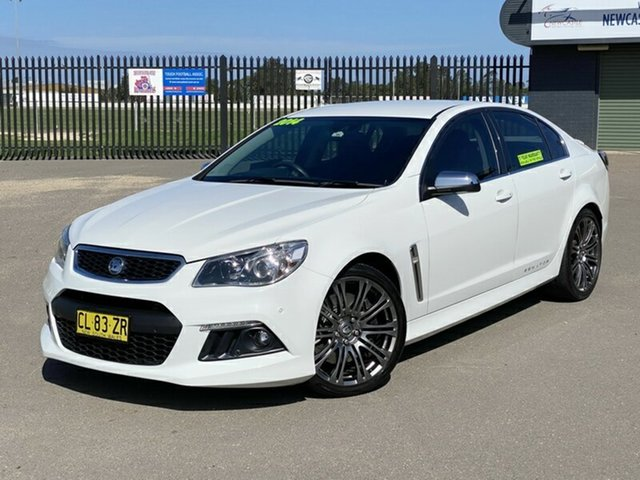 Used Holden Special Vehicles Senator Gen-F MY15 Signature, 2014 Holden Special Vehicles Senator Gen-F MY15 Signature White 6 Speed Sports Automatic Sedan