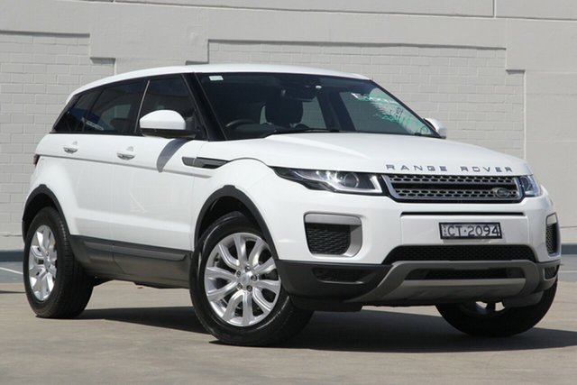 Used Land Rover Range Rover Evoque L538 MY17 TD4 150 SE, 2017 Land Rover Range Rover Evoque L538 MY17 TD4 150 SE White 9 Speed Sports Automatic Wagon