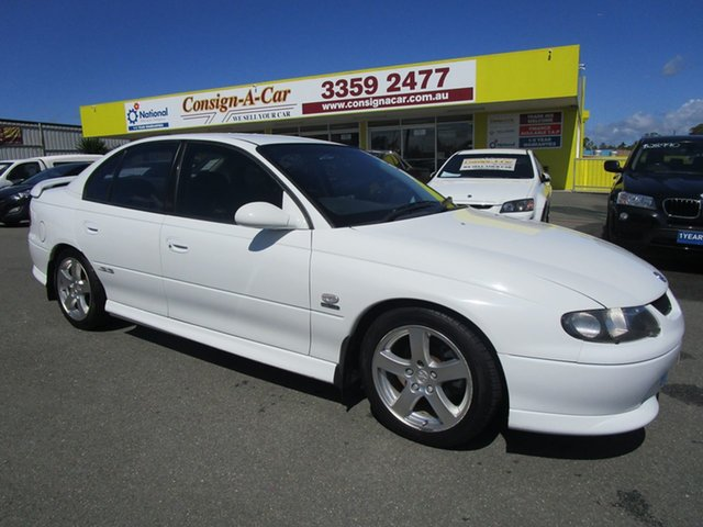 Used Holden Commodore VX SS, 2000 Holden Commodore VX SS White 4 Speed Automatic Sedan