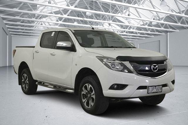 Used Mazda BT-50 MY16 XTR (4x4), 2016 Mazda BT-50 MY16 XTR (4x4) Cool White 6 Speed Automatic Dual Cab Utility