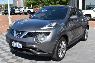2015 Nissan Juke F15 Series 2 Ti-S X-tronic AWD Grey 1 Speed Constant Variable Hatchback