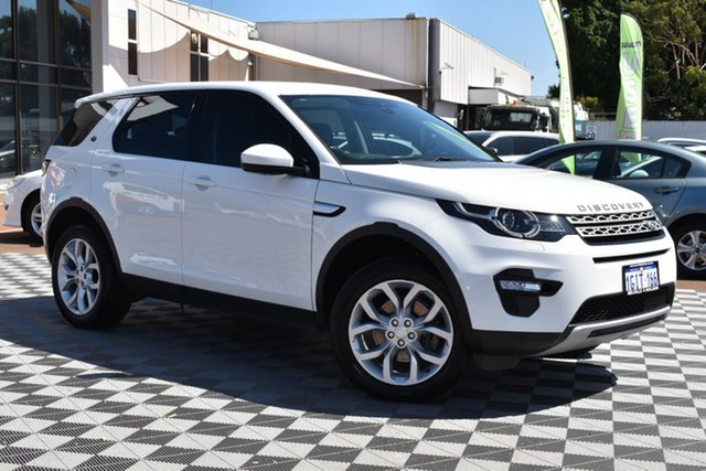 Used Land Rover Discovery Sport L550 17MY TD4 180 HSE, 2017 Land Rover Discovery Sport L550 17MY TD4 180 HSE White 9 Speed Sports Automatic Wagon